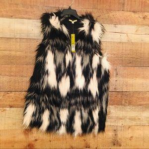 Gianni Bini Fur vest jacket